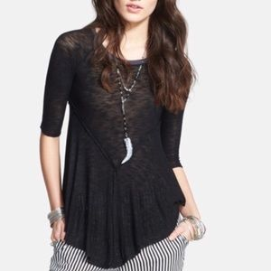Intimately Free People weekend gauzy tunic